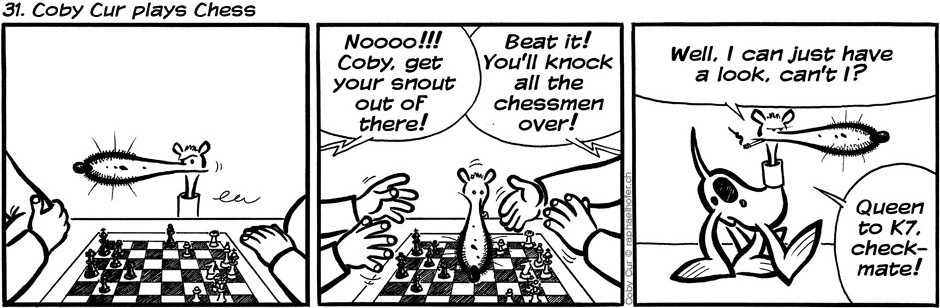 31. Coby Cur plays Chess