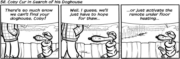 52. Coby Cur in Search of his Doghouse