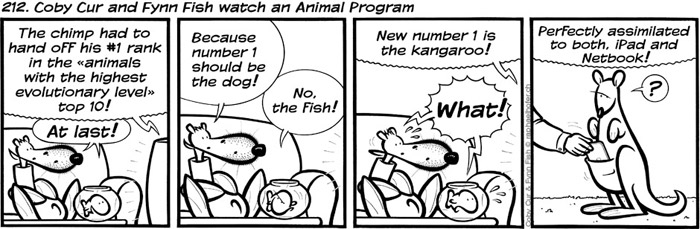 212. Coby Cur and Fynn Fish watch an Animal Program