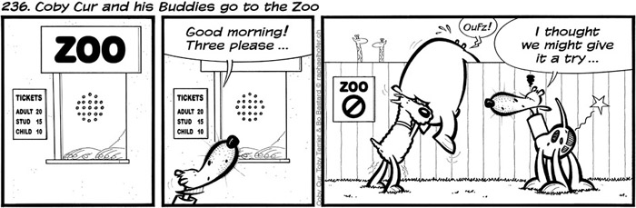 236. Coby Cur and his Buddies go to the Zoo